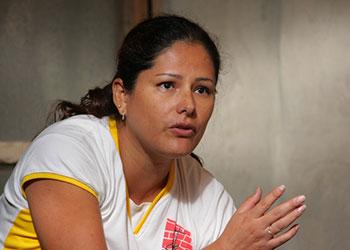 Lorena García inició la Cooperación Cristiana para el Desarrollo en 2003, con ayuda de Catholic Relief Services. Foto de Jim Stipe/CRS