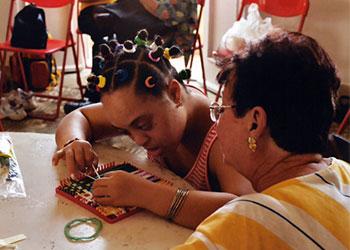 CRS apoya el trabajo de Cáritas Cubana con los niños con síndrome de Down. Foto por personal de CRS.