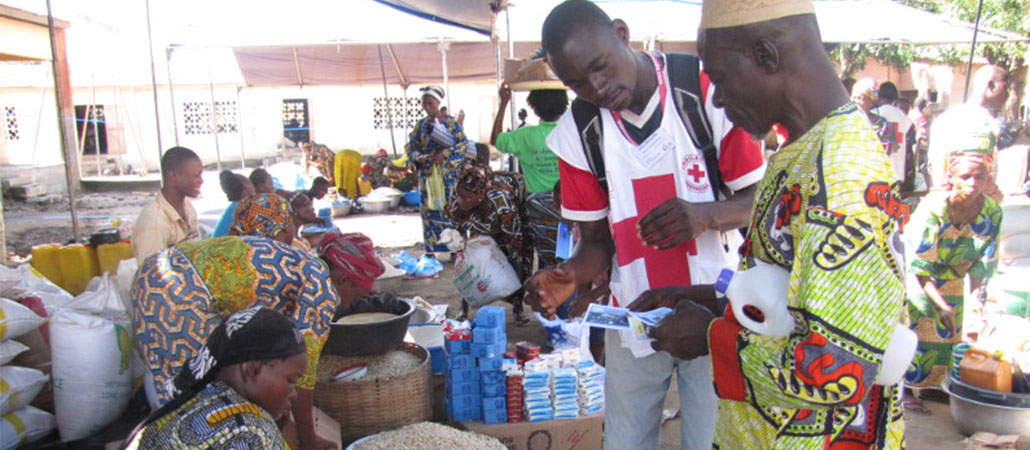 Benin CRS inundaciones vales comida respuesta emergencias