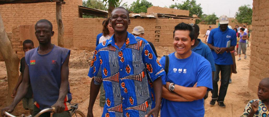 Burkina Faso CRS inundaciones delegación católicos hispanos