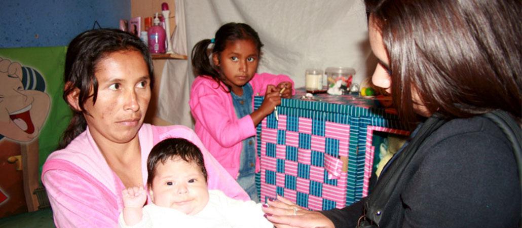 Colombia CRS personas desplazadas conflicto armado