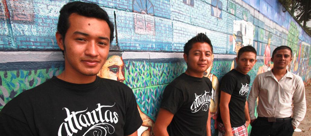 El Salvador CRS Jóvenes Constructores pandillas