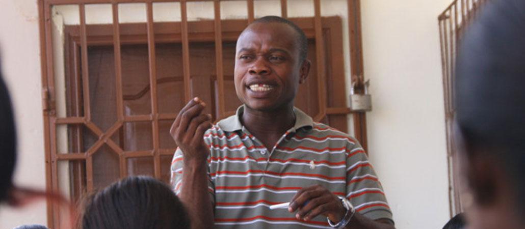 Ghana sida estigma educación CRS