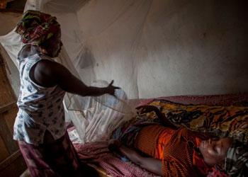 Mosquiteros para evitar la malaria