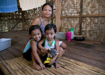 Recuperación después de Haiyan en las Filipinas