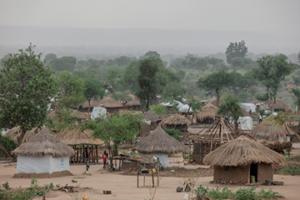 Aldea-en-Uganda