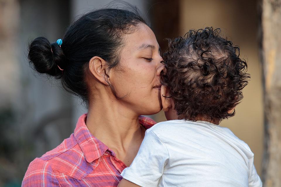 mama-e-hijo-nicaragua
