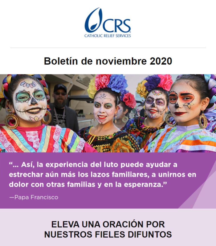 Boletín mensual de CRS